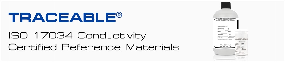 ISO 17034 Conductivity Certified Reference Materials