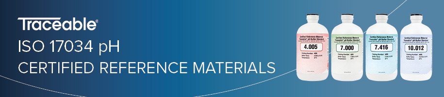 ISO 17034 pH Certified Reference Materials