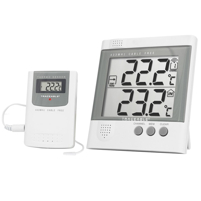 4115 Traceable Radio Signal Remote Thermometer