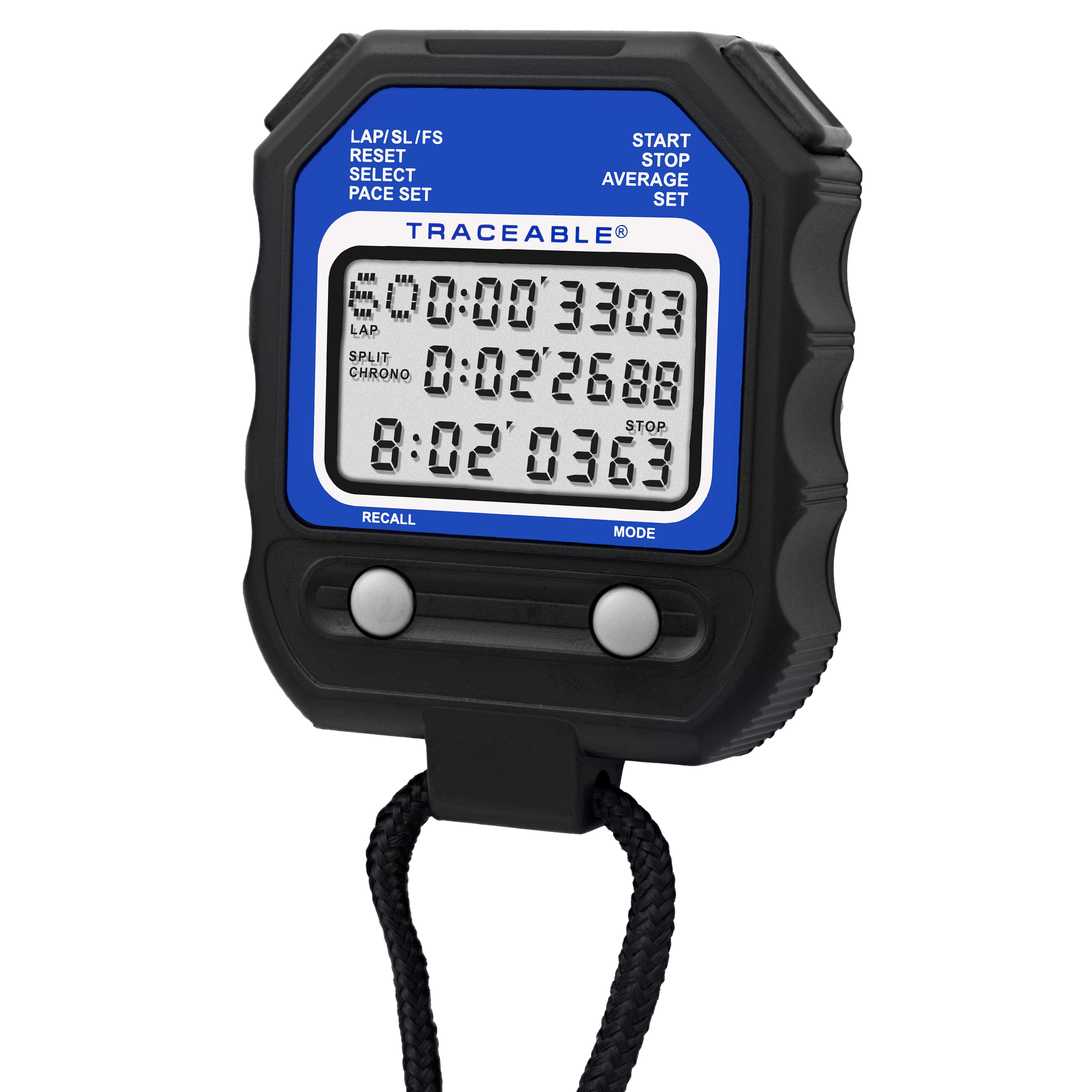 Traceable 60-Memory Stopwatch