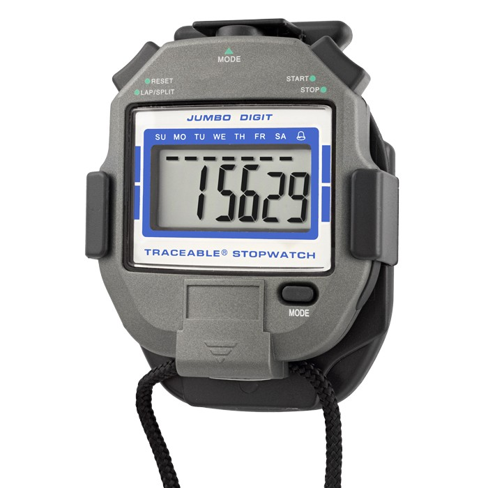 Jumbo-Digit Traceable Stopwatch