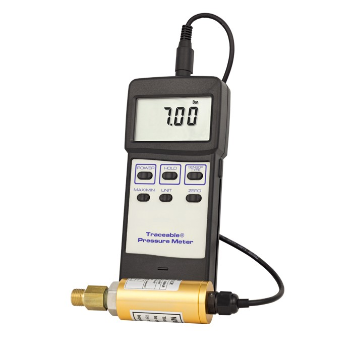 Pressure/Vacuum Traceable Gauge
