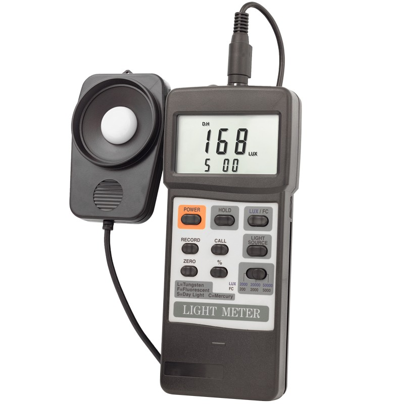 Dual-Display Traceable Light Meter