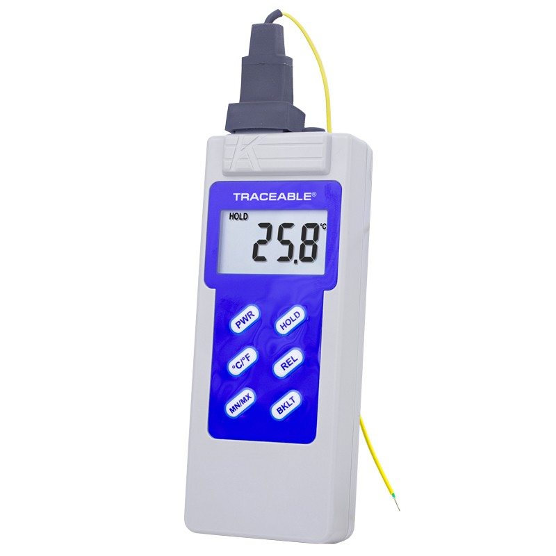 Type K Waterproof Traceable Thermometer