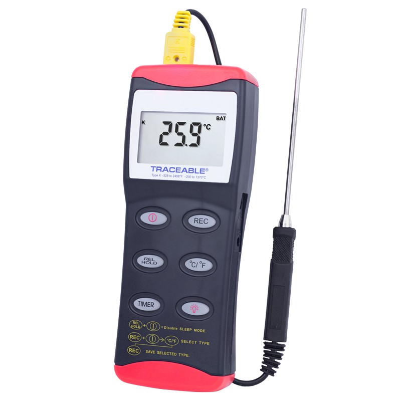 Memory Wide-Range Traceable Thermometer