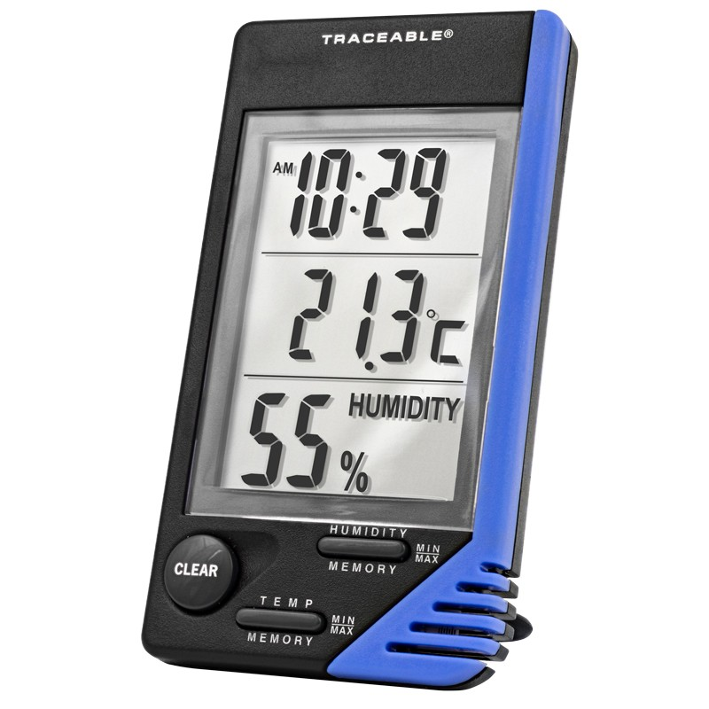 4040 Traceable® Thermometer/Clock/Humidity Monitor