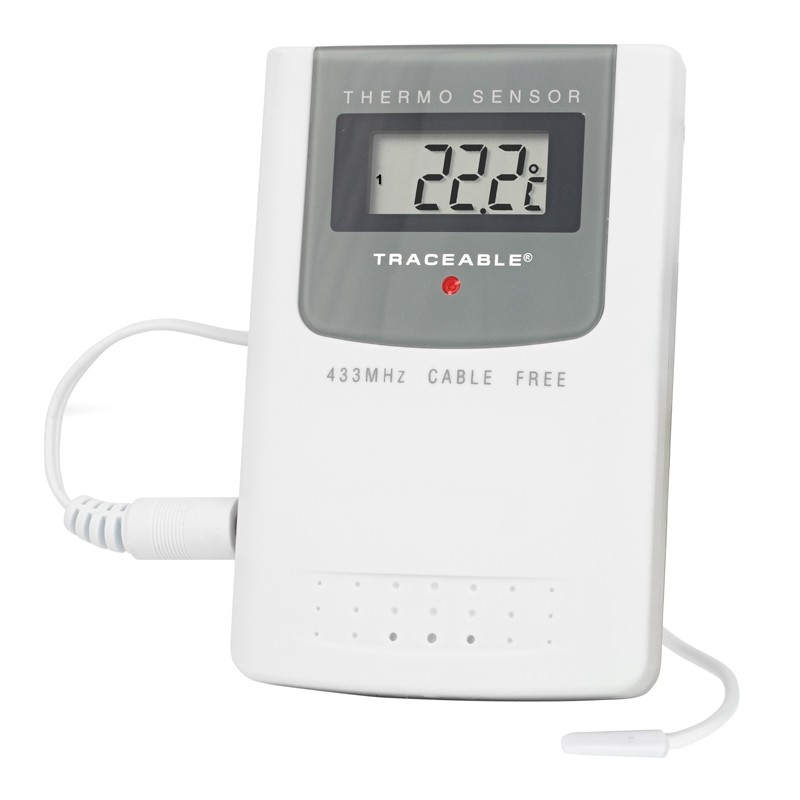 Radio-Signal Traceable Remote Thermometer *DISCONTINUED*