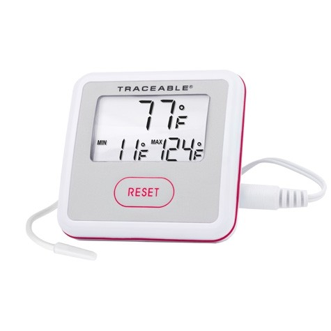 4120 traceable sentry thermometer degrees fahrenheit