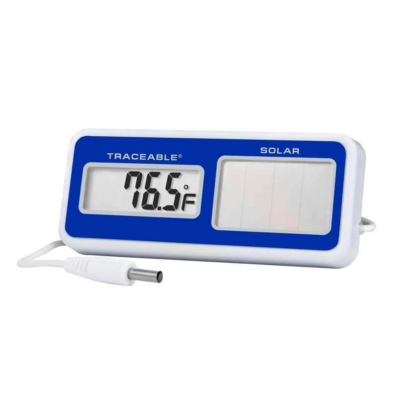 Solar-Powered Traceable Thermometer