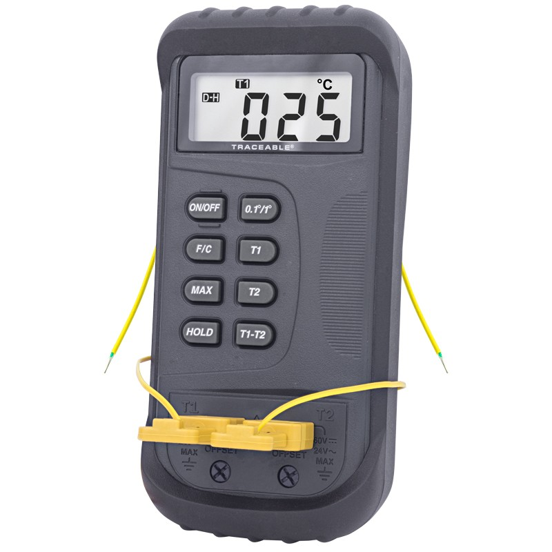 2-Channel Traceable Thermometer