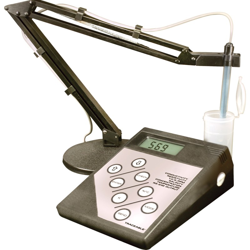 4163 ISO 17034 Traceable Bench Conductivity Meter