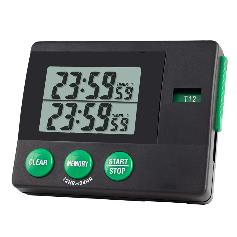 Two-Memory Traceable Timer