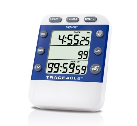 LCD TRACEABLE 5004 Alarm Timer,3//4 In