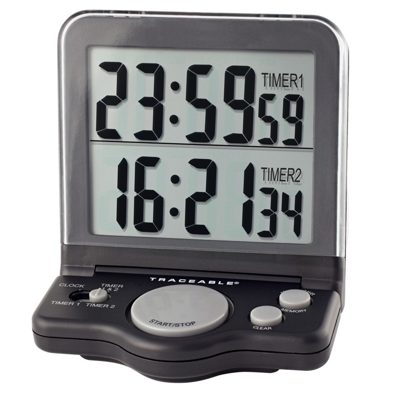 5023-Black-Jumbo Traceable Timer