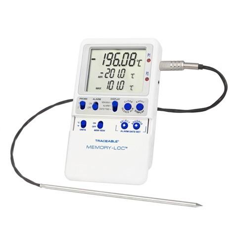 Memory-Loc  Liquid Nitrogen Datalogging Traceable Thermometer