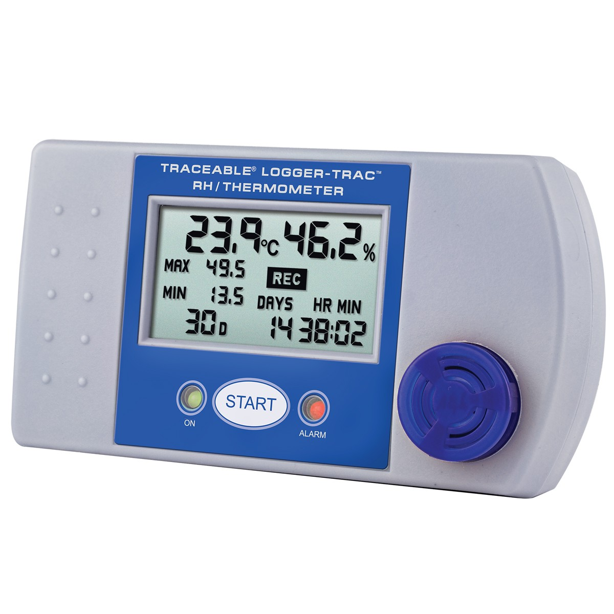 Logger-Trac Humidty Datalogging Traceable Thermometer