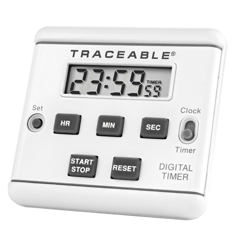8906 Traceable LCD Timer