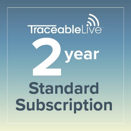 TraceableLIVE Standard 2 Year Subscription