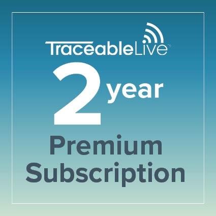 TraceableLIVE Premium 2 Year Subscription