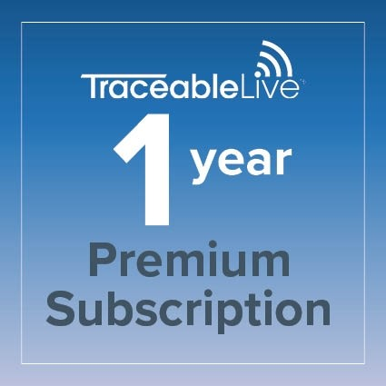 TraceableLIVE Premium 1 Year Subscription