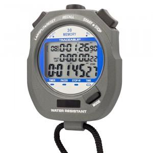 Dual-Display Traceable Digital Stopwatch