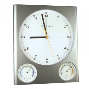Temperature Humidity Traceable Clock