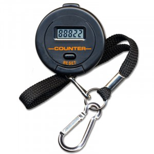 3129 Digital Counter with Key-Chain/Wrist Strap
