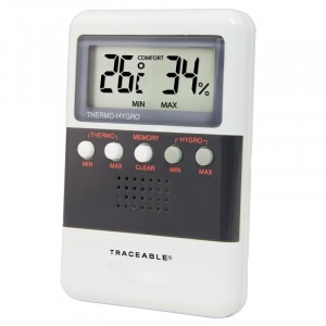 Digital Traceable Humidity/Temp. Meter