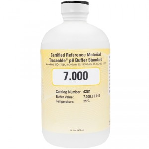 4281 Traceable® 7.000 pH Buffer Standards (CRM)