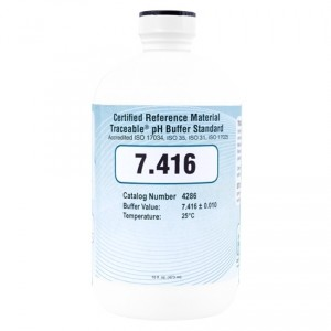 4286 Traceable® 7.416 pH Buffer Standards (CRM)