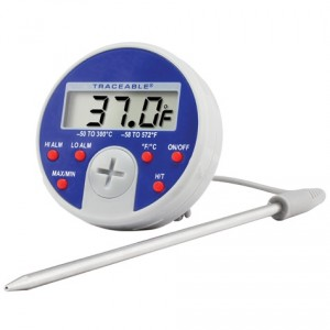 Full-Scale Traceable Thermometer