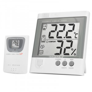 Humidity Radio Signal Remote Traceable  Thermometer