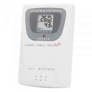 Humidty Remote Sensor Traceable Thermometer