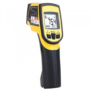 Type K Infrared Traceable Circle Laser Thermometer