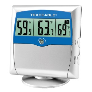 Humidity/Temperature Traceable Dew Point Meter