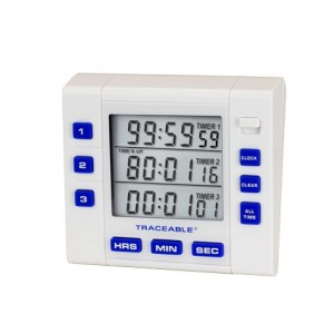 Three Channel Traceable Alarm Timer