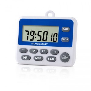 100-Hour Traceable Timer