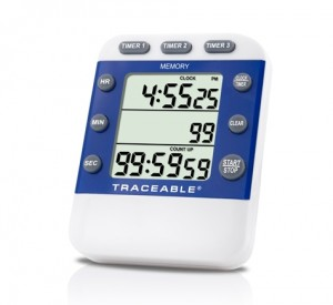 Three-Line Traceable Alarm Timer