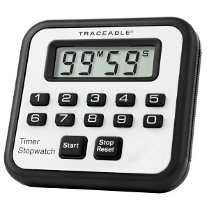 Alarm Traceable Timer/Stopwatch