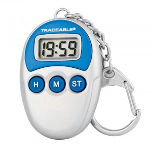 Key-Chain Traceable Timer