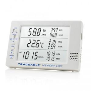 Memory-Loc  Datalogging Traceable Barometer