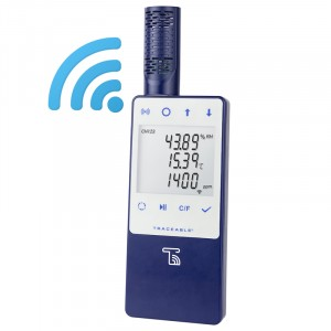 Traceable® Ambient CO2/Temperature/Humidity WIFI Data Logger compatible with TraceableLIVE® Cloud Service