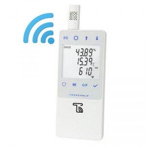 Traceable® Barometric/Temperature/Humidity WIFI Data Logger compatible with TraceableLIVE® Cloud Service