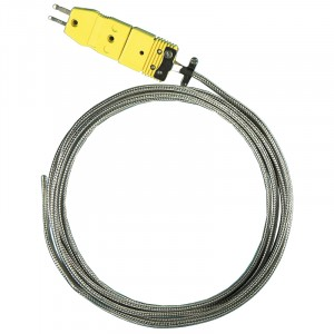 8613 High-Temperature Type-K braided Probe