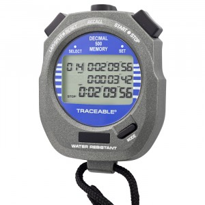 Decimal Traceable Stopwatch