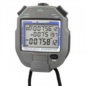 300-Memory Traceable Stopwatch