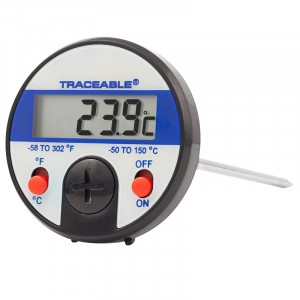 Jumbo-Display Traceable Dial Thermometer