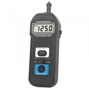 Touchless/Contact Digital Traceable Tachometer