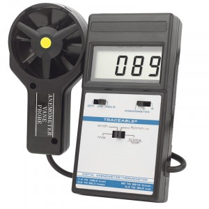 Digital Thermometer Traceable Anemometer