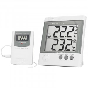 Radio-Signal Traceable Remote Thermometer